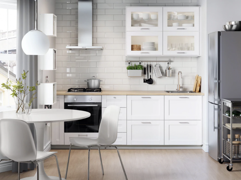 Flat Pack Ikea Kitchen can be installed by Flat Pack Builders