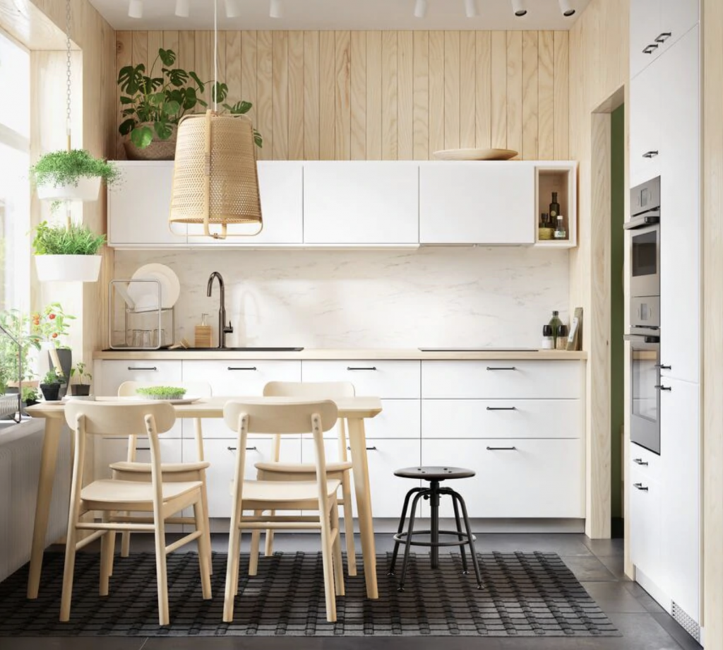 Flat Pack Builders can install this ikea kitchen