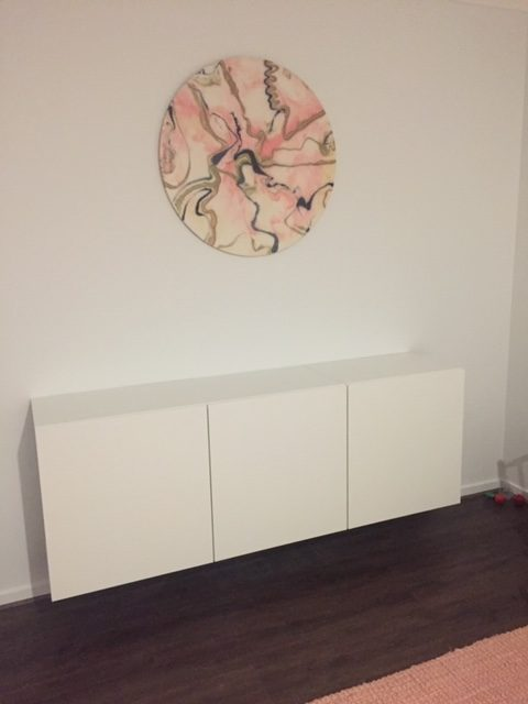 buffet unit installed by flat pack builders